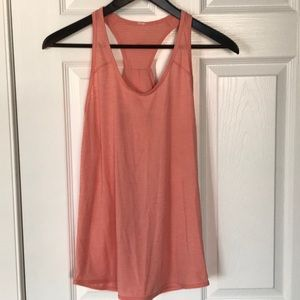 Lululemon Tank Top- Orange/Pink- Size 6